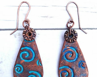 Polymer clay jewelry handmade in Europe.