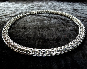 Full Persian Stainless Steel (6mm) Chainmail Jewellery Necklace