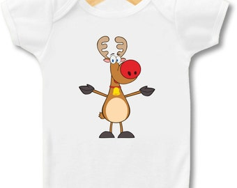 Rudolph The Red Nosed Reindeer - Bodysuit or T-Shirt