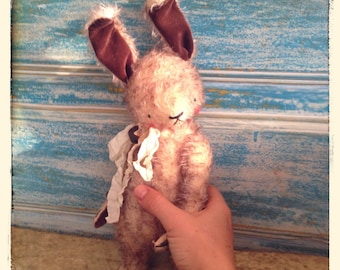 PDF Epattern for 10 inch Mohair Teddy Bunny like Oliver by Sasha Pokrass