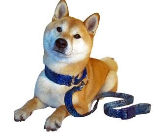 Leash for Dogs, Matching Dog Leash, Cotton Dog Leash, Custom Leash, Buckle Handle Leash, Hands Free Leash, 6 Foot Dog Leash, 4 Foot Leash