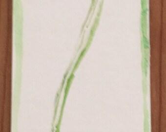 Flower Bookmark Handmade