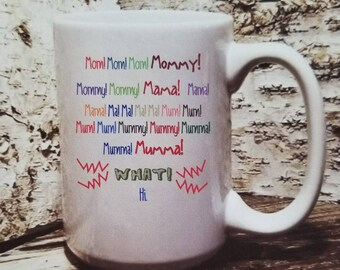 Family guy mom, moma, ma, Mug for mom, Unique gift for mom,  mom birthday gift or mothers day