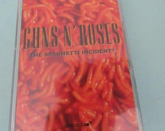 Guns N' Roses The Spaghetti Incident? Cassette Tape 1993 Free Shipping