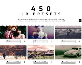 450 Lightroom Presets