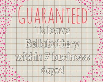 Guaranteed Shipment within 7 Business Days
