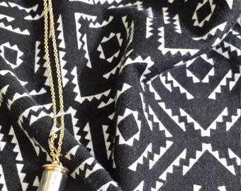 EW bullet necklace