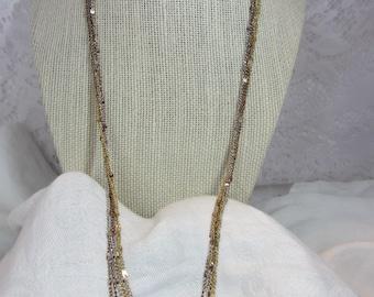 Eisenberg Multi-tone, Multi-Chain Long Necklace