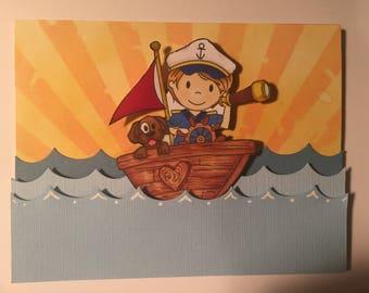 Ahoy Matey Slider Greeting Card!