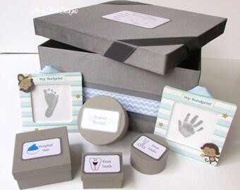 Baby Keepsake Box, Baby Shower Box, Baby Memory Box, Baby Gift, Christening gift - Custom Made