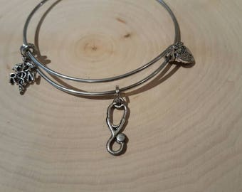 Nursing bangle bracelet