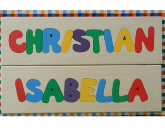 Personalized Name Puzzle 8 to 9 Letter Name, Children Name Puzzle, Name Puzzle, Personalized Name, Personalized Puzzle, Children Puzzle