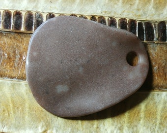 gemstone pendant, petal - 5