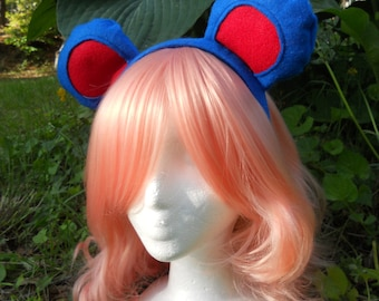 Marril cosplay ears - pokemon - EARS ONLY