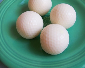 Golf Ball Soap Set - Golf Soap, Gift for Him, Ball Soap, Sport Soap, Golfing Soap, Soap Favors, Gift For Men, Father's Day Soap, Peppermint