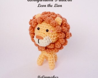 León Amigurumi Tutorial : Crochet doll pattern lord ganesha guichai dolls pattern