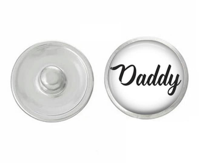 Daddy - Wedding - Bachelorette- Custom Snap - Ginger Snaps - Magnolia and Vine - Interchangeable Snap - Handpress