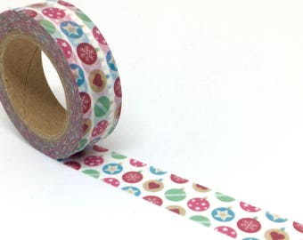 Christmas Bauble Washi Tape - Xmas Balls