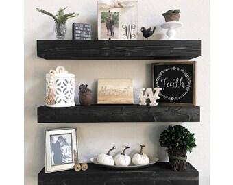 Floating Shelves, Floating Shelf, Nursery Shelf, Bathroom Shelf, Kitchen Shelf, Rustic Shelf, Farmhouse Decor, Nursery Decor