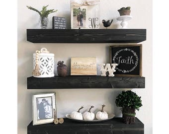 Floating Shelves, Floating Shelf, Nursery Shelf, Bathroom Shelf, Kitchen  Shelf, Rustic