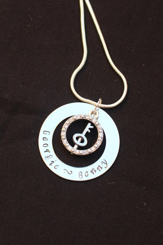 photo with customised women p pendant necklace s initial on jewellery fashion