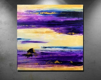 """Title """" October Sky """" Abstract art, Acrylic paintings,"""