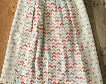 Arrow and Triangle Skirt Size 4T-5T