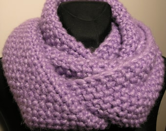 Thick and soft infinity scarf,neck warmer