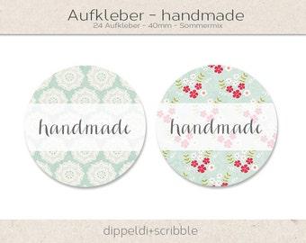 Handmade stickers