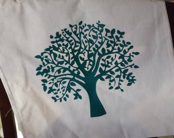 Country Tree Canvas Bag
