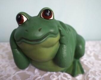 Merveilleux Hear No Evil Frog   Garden Frog   Ceramic Frog   Yard Art   Patio Decor