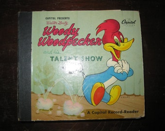 Record Reader Woody Woodpecker