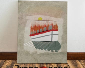 ICE CUBE Art Print on Canvas