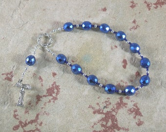 Nike (Victory) Pocket Prayer Beads: Greek Goddess of Victory, in Contests, Competitions and Battles