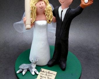Los Angeles Dodgers Baseball Wedding Cake Topper, Los Angeles Dodgers Baseball Wedding Anniversary Gift, Baseball Wedding Anniversary Gift.