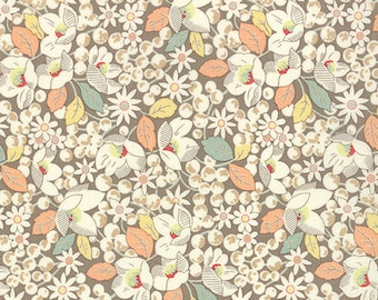 Strawberry Fields Revisited - From Fig Tree Quilts - For Moda - Floral (20265 18) - 1 Yard - 7.95 Dollars