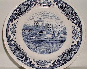 Vintage Plate by Double Phoenix