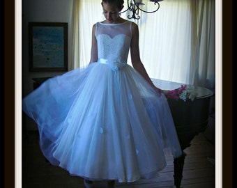 1950s Wedding Dress COLLEEN