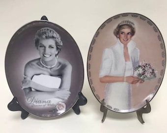 Princess Diana Bradford Exchange plates Always Diana Our Royal Princess collectible