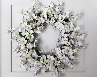 Dogwood Flower Wreath