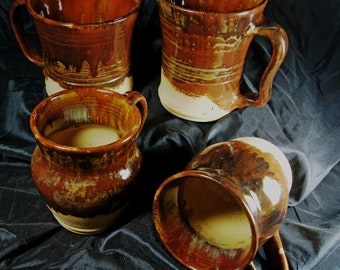 Pottery  Beer Steins 700ml +