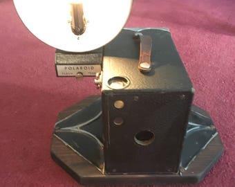 Vintage Polaroid Camera Lamp