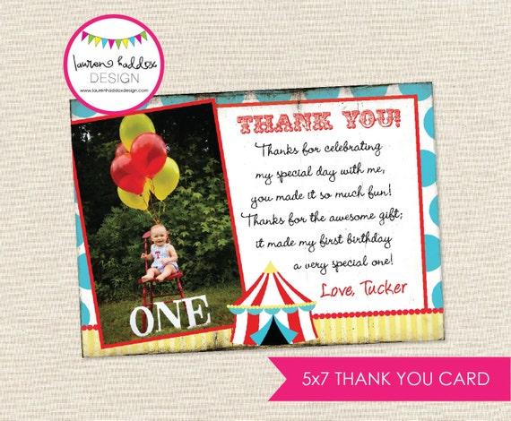 Circus Thank You Cards Circus Thank You Cards Zazzle Carnival