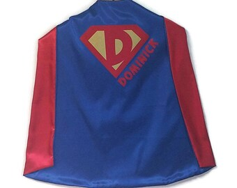 SUPERHERO CAPE - Super Hero Cape - Personalized Cape - Boy Cape - Photo Prop - Birthday Gift - Kid Cape - Kids Gift - Superhero Costume