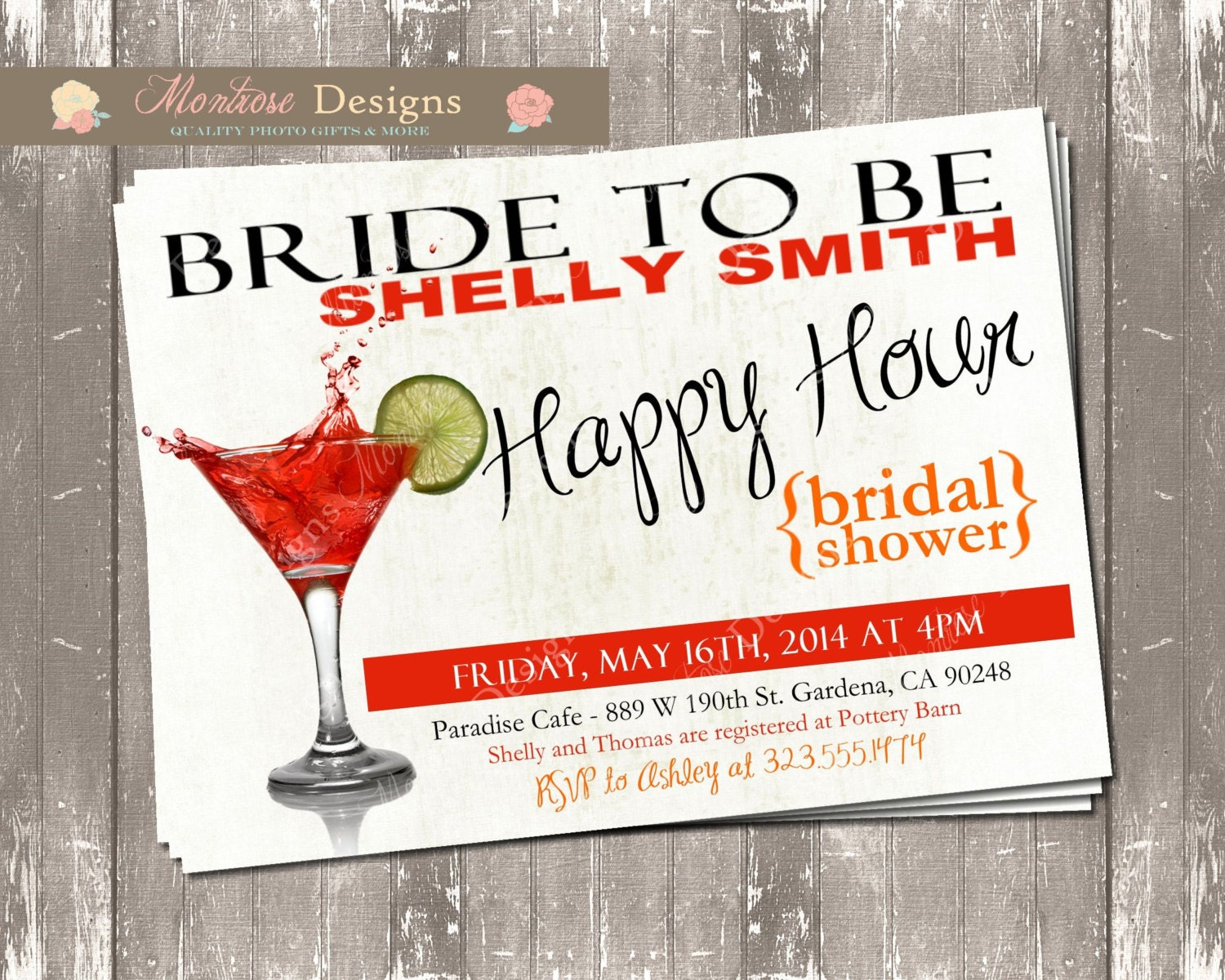 Funky Who To Invite To A Bridal Shower Photos - Invitations and ...