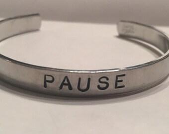 Pause Cuff Bracelet