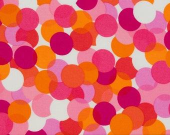Michael Miller OOP Fabric  -  Spotlight CX1400 in Flamingo  -  One Yard