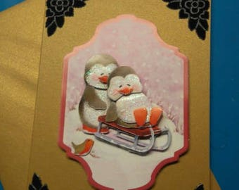 3D 895 hand made greeting card