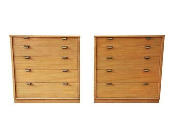 Edward Wormley Bachelor Chests, 1949 - a Pair