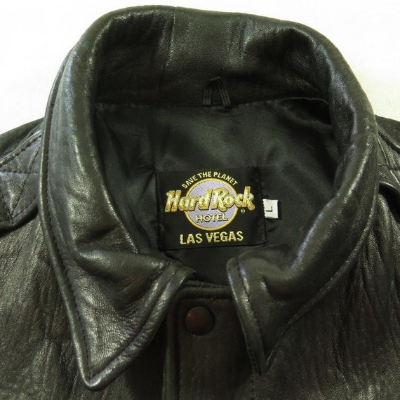Jacket Deadstock the H44E 90s Leather Vintage Planet Leather 10 A2 Rock Hard Bomber L Hotel Save 3 XCxf7qxwR